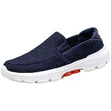 Darringls_Zapatos de hombre,Zapatos de Cordones para Hombre Shoes Attività Commerciale Sneakers Conducción Zapatillas Cuero