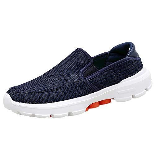Herren Sneaker,ABsoar Freizeitschuhe Netzoberfläche Slipper Flat Turnschuhe Rutschfeste Tennisschuhe Joggingschuhe Running Schuhe Atmungsaktive Tennisschuhe