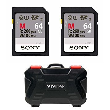 Sony 64GB SDXC Class 10 Memory Card
