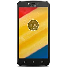 Motorola Moto C Plus Smartphone, Memoria Interna da 16 GB, Starry Black