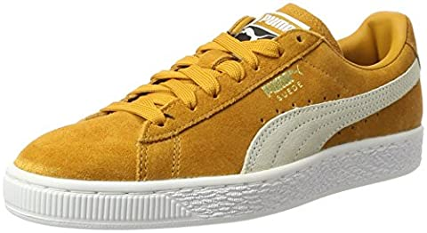 Puma Suede Classic + , Sneakers Basses Mixte Adulte, Marron (Inca Gold-White), 43 EU