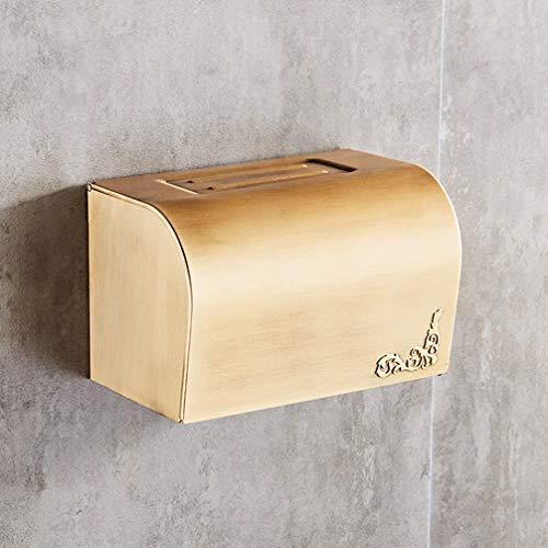 LUDSUY Antiken Toiletten Papier Wasserdicht Bad Tissue Wc Papier Box Halter Rollen Halter Europäischen Stil Küche Weiß Papier Rack,A