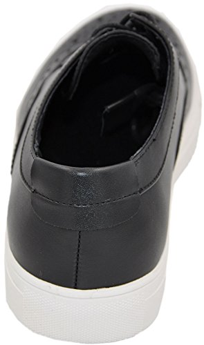 Galax sneaker basse bout fleuri 3111 Noir