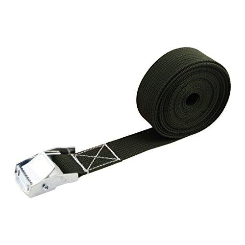 Breite Nylon Pack Cam Bindengurt Lash Gepäck Tasche Gürtel Metallschnalle Outdoor Survival Tools -