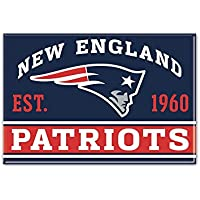NFL Metall Magnet 6x8 cm New England Patriots