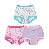 Peppa Pig Toddler Girls' 3pk Training Pant, Assorted Peppa, 4T