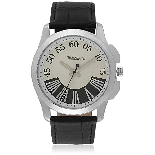 TimeSmith Limited Edition Analog White Men's Watch TSM-057-W