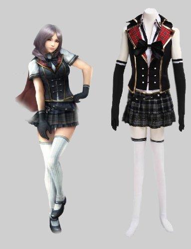 Type Kostüm 0 Final Fantasy Sommer - Final Fantasy Type-0 sommer Cosplay Kostüm , Größe L:(165-170 CM)