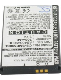 Akku für SAMSUNG SGH-E598, 3.7V, 700mAh, Li-Ionen