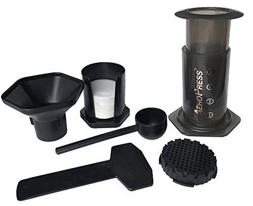 1//2 riutilizzabile Filtro in Acciaio Inox Pro E CASA PER Aerobie AeroPress Coffee Maker