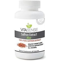 Extracto de Azafrán, Vitasense, 88.25 mg - 60 Cápsulas