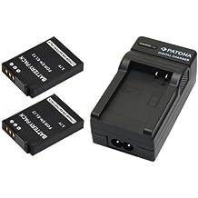 2 x Batterie (similaire à nIKON eN-eL12), 1 chargeur pour nIKON coolpix s9500 s9400 s9100 s8200 s31 s800c s8100 s8000 p330 p310 p300 s6150 s6200 aW100 aW110 avec prise pour l'allume-cigare