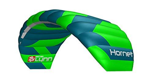 Lenkmatte Peter Lynn Hornet 3.0 mit Handles Allround-Lenkdrachen 4-Line Powerkite für Kitebuggy