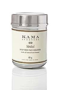Kama Ayurveda Mridul Soap-Free Face Cleanser, 40g