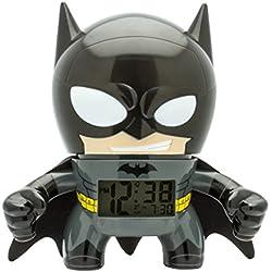 """BulbBotz """"DC Super Heroes Batman Plastic Horloge, Noir"""