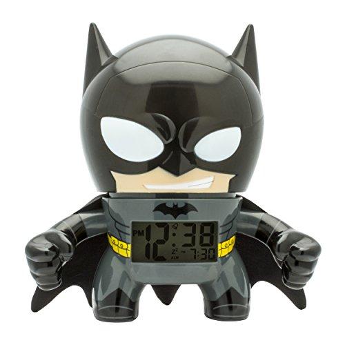 BulbBotz 'DC Super Heroes Batman Reloj de plástico, Negro
