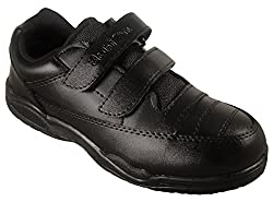 Action Synergy 1260 Black School Shoes