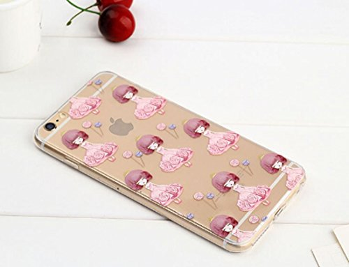 iPhone SE Hülle Silikon,iPhone SE Hülle Transparent,iPhone SE Hülle Glitzer,iPhone 5S Clear TPU Case Hülle Klare Ultradünne Silikon Gel Schutzhülle Durchsichtig Rückschale Etui für iPhone 5,iPhone 5S  Flamingo 14