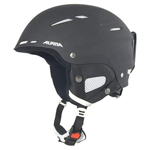 ALPINA Herren Ski- und Snowboardhelm Biom schwarz (200) S