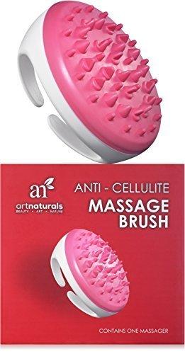 Beruhigen Gel Body Lotion (ArtNaturals Anti Cellulite Massagebürste für Orangenhaut - (1 Bürste) - Wellness Behandlung für Straffe Haut - Ergonomischer Body Shaper - Durchblutungsfördernd)