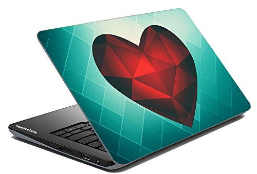Laptop Skin & Portable Hard disk Combo || Fits nearly all Laptops and HDs|| Laptop skin cover for Dell, Hp, Toshiba, Acer, Asus etc. || Laptop Skin for Apple macbook || Skin stickers for all makes and models of portable hard drives like wd, sony, kingston, samsung etc.  available at amazon for Rs.165