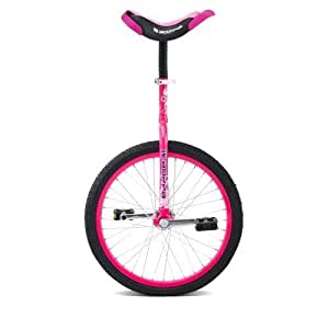 Concept Girl's Uni-Bopper Single Speed Junicycle Unicycle - (Neon Pink, 16 Inch)