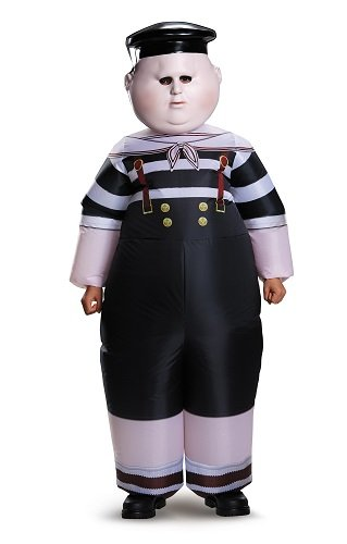 (Disguise Tweedle Dum/Tweedle Dee Inflatable Child Alice Through The Looking Glass Movie Disney Costume, One Size Child, One Color by Disguise)