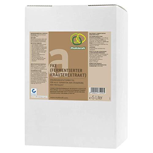 FKE a, Fermentierter Kräuterextrakt für alle Tierarten, 10 Liter Bag-in-Box, Multikraft, Effektive Mikroorganismen EM