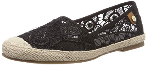 Tamaris Damen 1-1-24606-22 Slipper, Schwarz (Black MACRAMEE 14), 39 EU