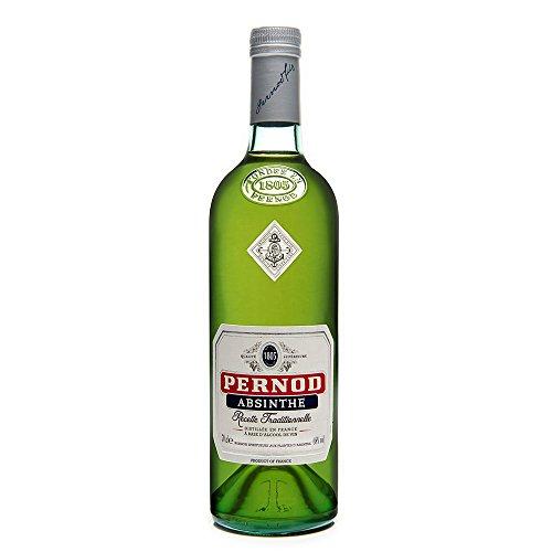 Pernod Absinthe Recette Traditionnelle - Absinth nach traditionellem Original-Rezept - Angenehm milde Wermutspirituose mit pflanzlichen Noten - 1 x 0,7 L
