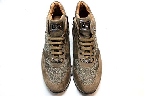 Polacchine Sapatos B21668 Jo Confortável Sneakers Mulheres Liu Taupe Menina Taupe Cxw1qnU4
