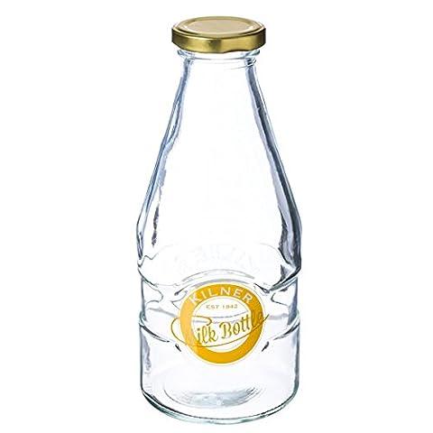 Kilner 1 Pint Milk Bottles 20oz - Set of 9