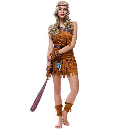 Imagen de disfraz de india para mujer cosplay halloween carnaval talla xl alternativa