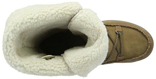 Merrell Emery Dentelle Haute Femmes Stivali Da Passeggio Brown