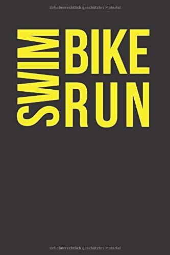 Zoom IMG-2 swim bike run 6x9 liniert