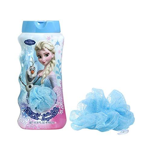 La reines delle nevi disney frozen cofanetto regalo gel doccia 450ml + giocattolo
