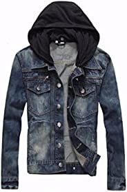 Hashoob Mens Jeans Jacket Denim Jacket DJ-01