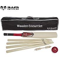 India Made Cricket Set – Madera – Size H – Incluye balones – Bolsa