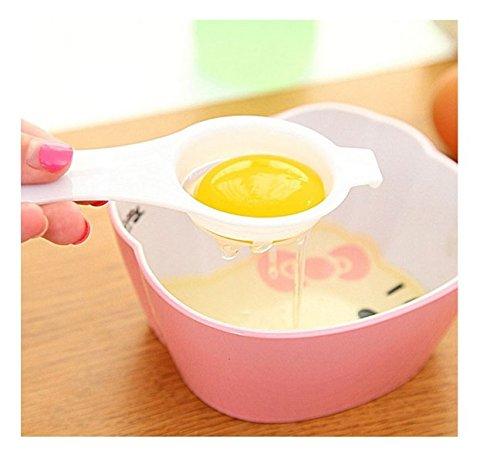 JUNGEN Eigelbtrenner DIY Eigelb Separator Küchenhelfer Eiertrenner Eier trennen Trenner Ei weiß Eggwhite - 2