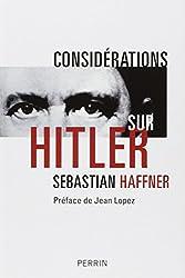 Considérations sur Hitler