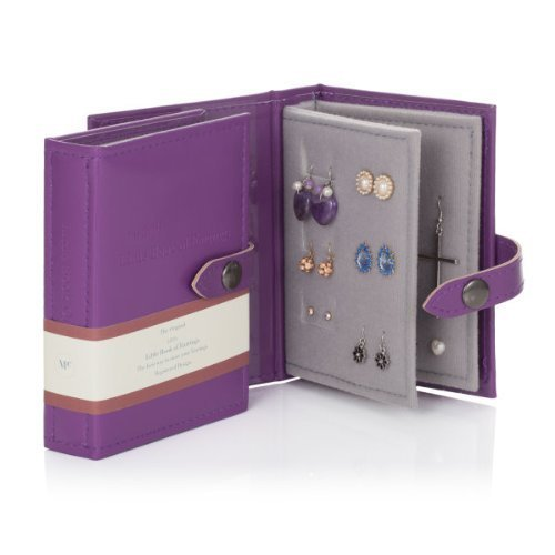 Little Little Book of Earrings - Small Size - PURPLE