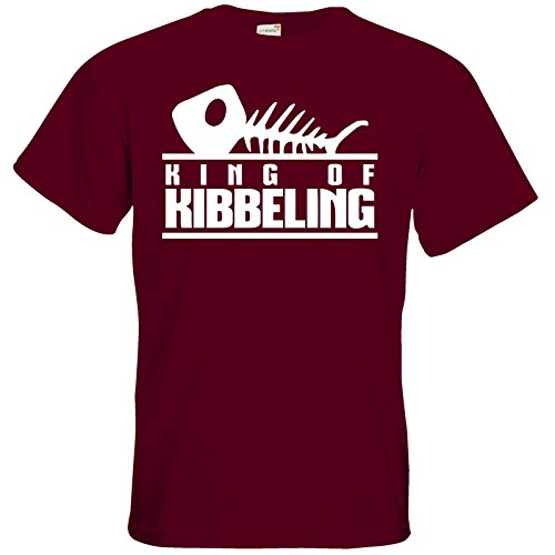 getshirts - Gronkh Official Merchandising - T-Shirt - Dead by Daylight - King of Kibbeling Burgundy