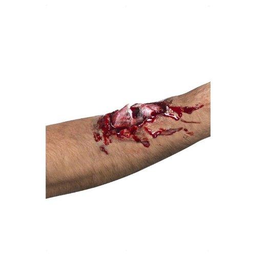 Gebrochener Knochen Wunde (Knochen Halloween)