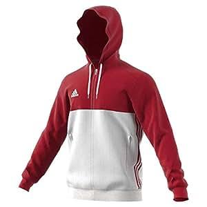 Adidas T16 Team Hoodie Männer AJ5411, Rot Weiß: