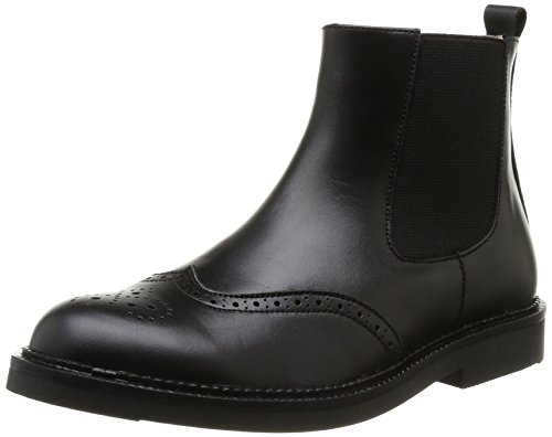 Start Rite  Marlow,  Stivali ragazzo Nero Noir (Black Leather) 36