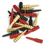 24-piece Spare Cribbage Pegs & Instructi...