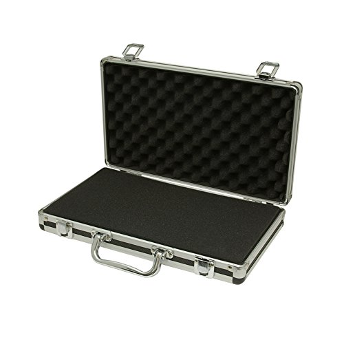 , Ipad, Macbook Air, Kindle Fire, Surface Tasche Travel Aluminium Flight Case (Flight Case Klein)