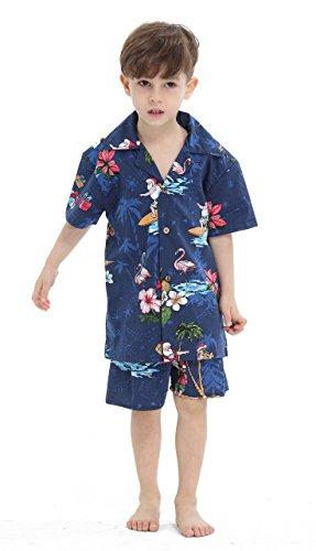 Hawaii-Hangover-Chico-Camisa-de-Aloha-Luau-Camisa-de-Navidad-Cabana-en-Santa-Marina-4-aos