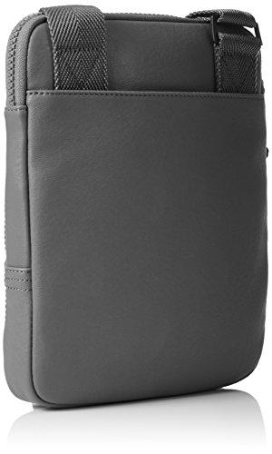 Calvin Klein Jeans Herren Speed Flat Umhängetaschen, 28x23x3 cm Grau (ABYSS 020 020)