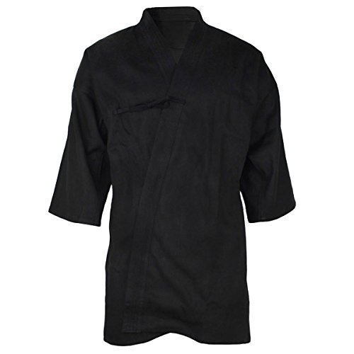 Gi, schwarz, Größe 185 (6) (Aikido-gi)